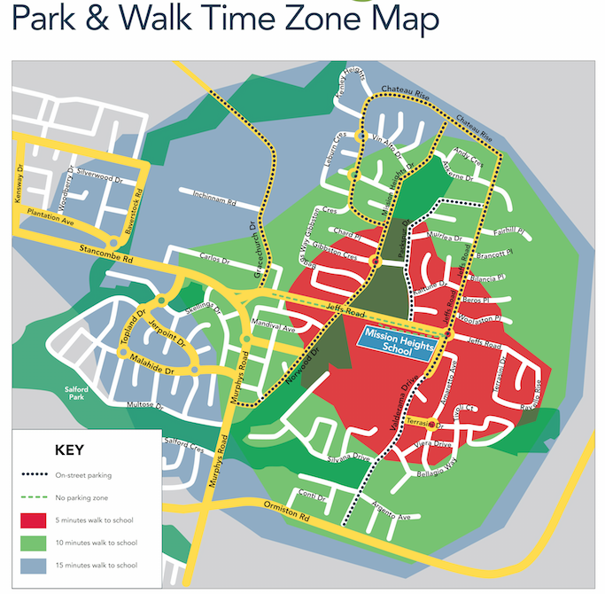 Travelwise Park and Walk Times